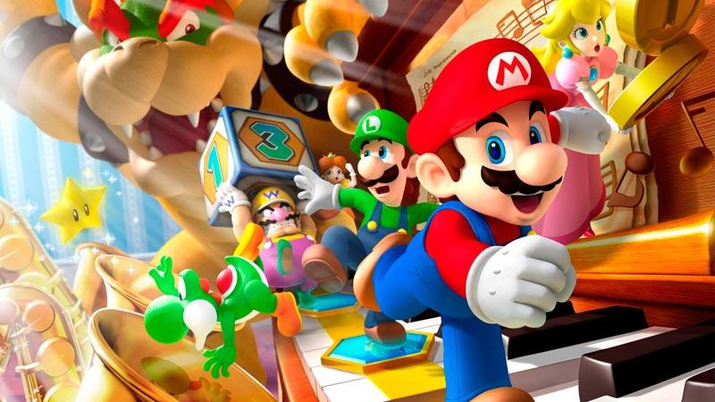 Infografía Super Mario Nintendo