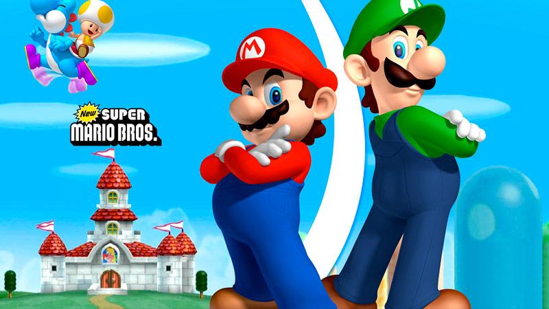 Infografía Mario Bros