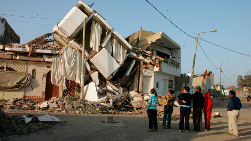 Infografía Terremoto en Pisco