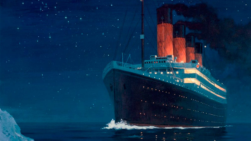 Infografía Titanic