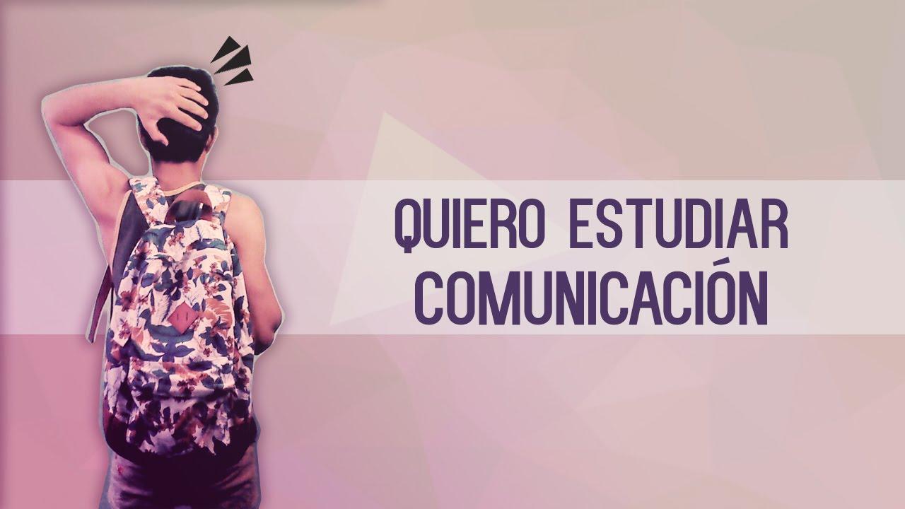 Ciencias de la comunicación: Vocación y pasión