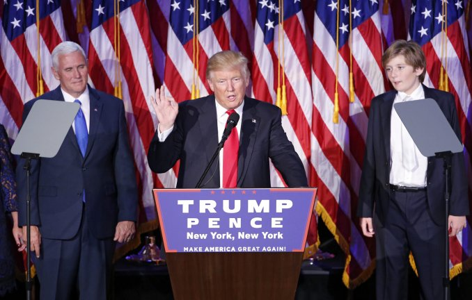 Comunicación Política: El excéntrico primer discurso de Donald Trump