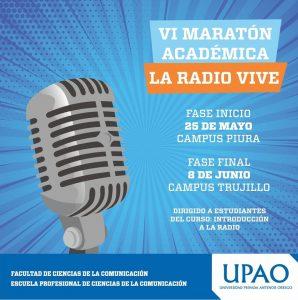"""Maratón Académica """"La Radio Vive"""""""