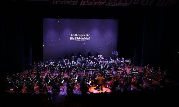 Un concierto de película para el recuerdo