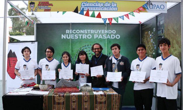 Estudiantes de Ciencias de la Comunicación ganan primer puesto en Feria de Ciencia, Tecnología e Innovación 2019
